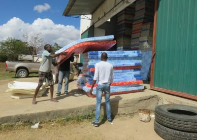 Buying mattresses for vulnerable children