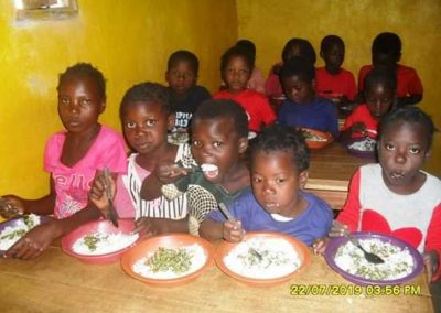 Daily before and after school feeding program